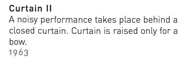 curtain II